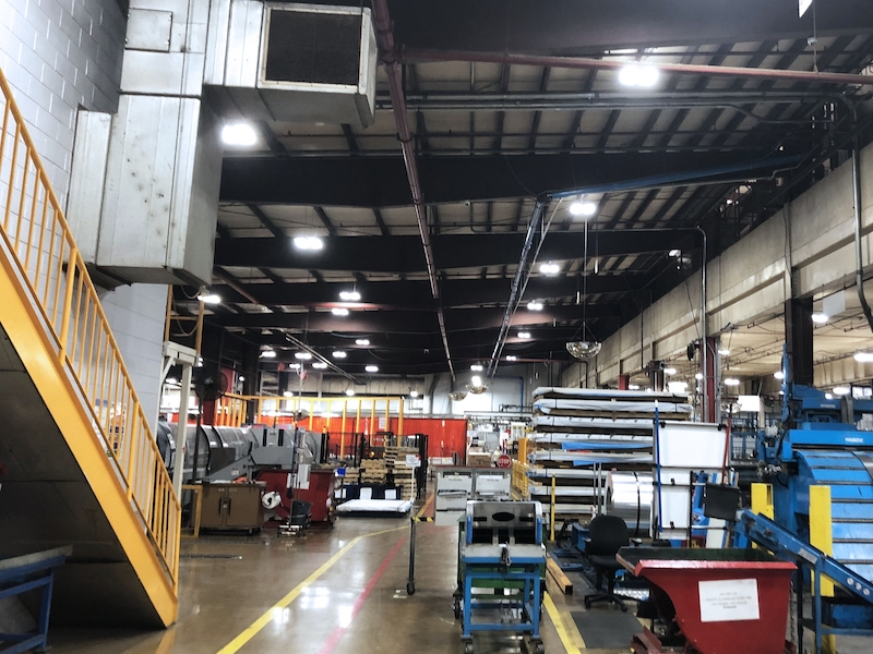 WernerCo LED Lighting Project by Fairbanks Energy 1